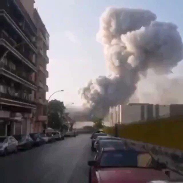 Que dios nos proteja quien sabe que viene ahora así en el Líbano en estos momentos parece que fue más que una explosión