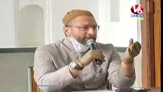 AIMIM President Barrister Asaduddin Owaisi said the Babri Masjid demolition is not forgotten & demanded Telangana Govt to reconstruct the two Masjids of Secretariat at the same place. @asadowaisi
