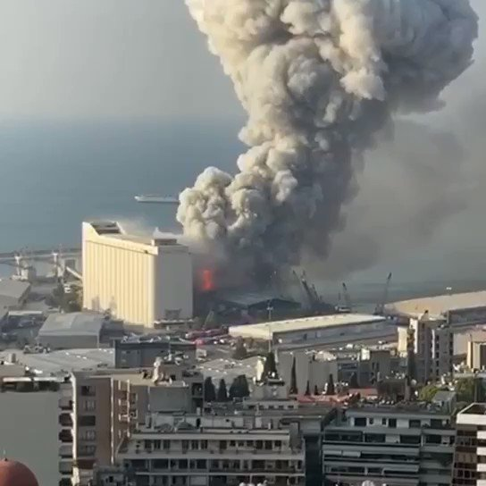Please join me in sending prayers & God's blessings to Beirut and everyone in Lebanon right now after the devastating & horrifying explosion that took place. 100 lives lost and over 4,000 injured... and those numbers continue to grow.⚠️ Warning Graphic Vid