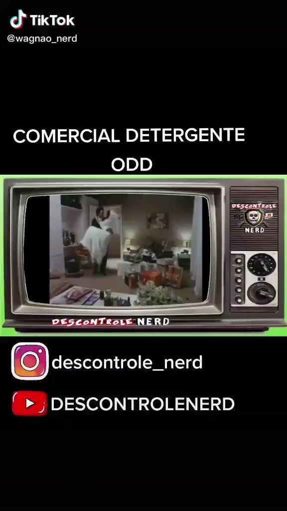 Comercial do detergente ODD.  #descontrole_nerd #megaman #Desenhos #sbt #tv #nostalgia #retro  #infancia #game #nerd #Geek #anos80 #anos90 #comercial