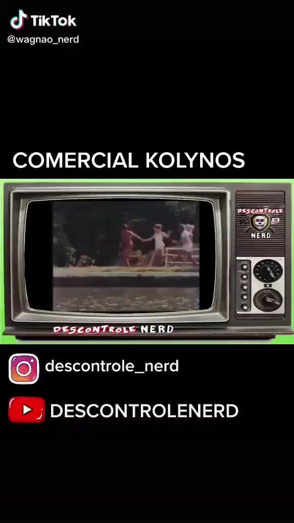 Comercial KOLYNOS  #descontrole_nerd #megaman #Desenhos #sbt #tv #nostalgia #retro  #infancia #game #nerd #Geek #anos80 #anos90 #COMERCIAL