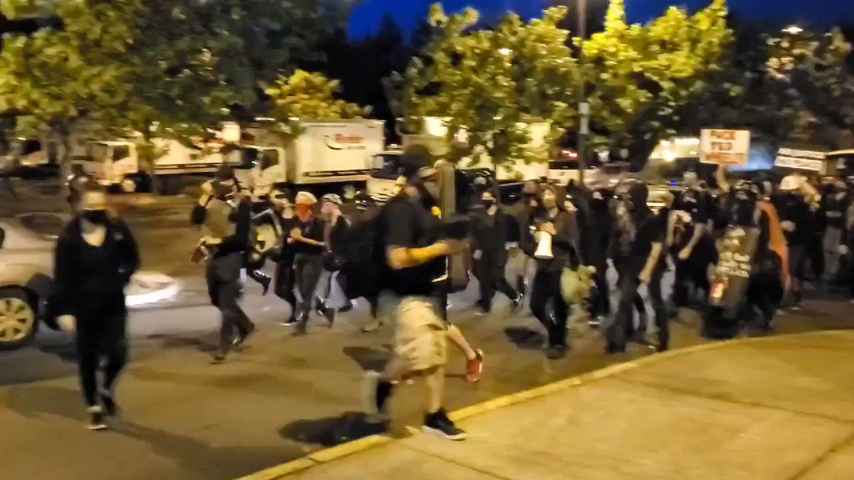 Be a shame if everyone sent this Portland Antifa video from last night to @MazieHirono. Please do not RT.
