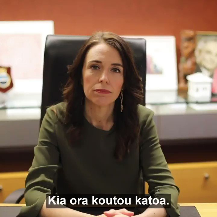 MUST WATCH: On the 75th anniversary of the nuclear attack on #Hiroshima, @jacindaardern, PM New Zealand shows what real leadership looks like with her message about the dangers of nuclear weapons and the need to join the #nuclearban treaty.