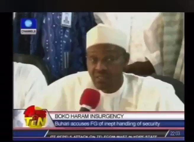 The Biggest Boko Haram is the Federal Government itself - Buhari. #EndSARS