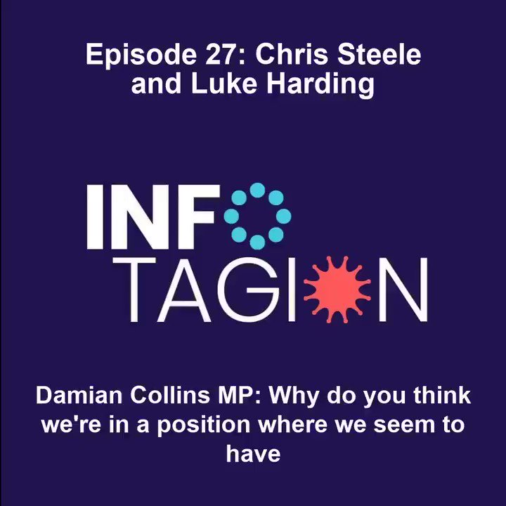🆕 EXCLUSIVE: Ex-MI6 officer Chris Steele joins @DamianCollins, @LukeHarding1968 @Guardian & @CharlesKriel for his 1st ever on-the-record interview 🇷🇺🇺🇸🇬🇧 #RussiaReport  🎙️ Spotify  🎙️ Apple  🎙️ Infotagion