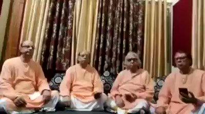 #RamMandirBhumiPujan आनन्द के उपलक्ष्य मे शर्मा बंधु श्रीरामदरबार मुजफ्फरनगर वालो ने नई रचना गाकर भावविभोर कर दिया। Must listen & share