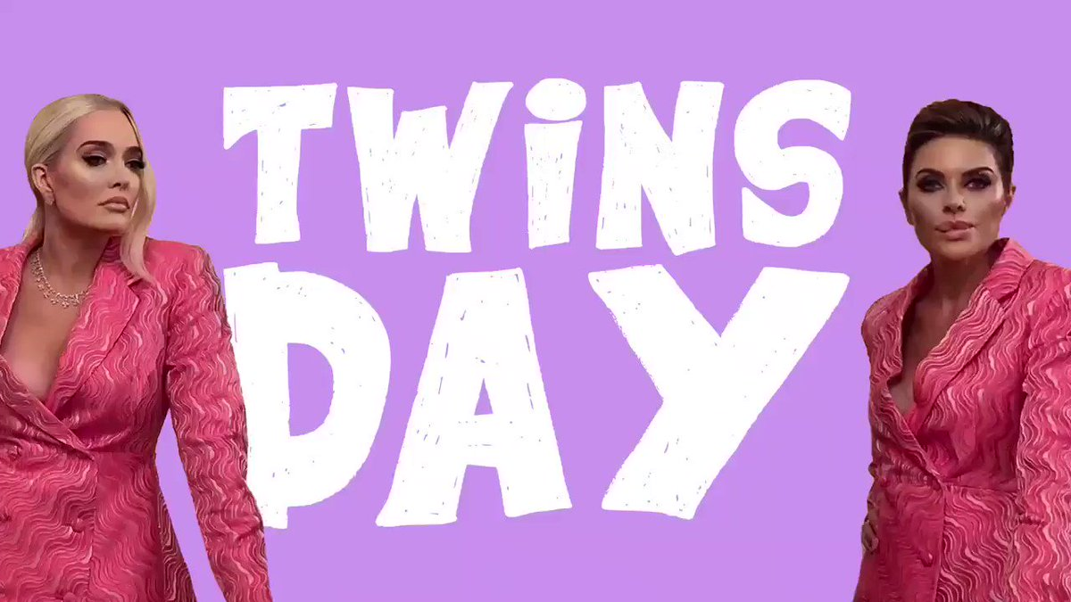 Yep. Twins Day. #Twinning   @lisarinna