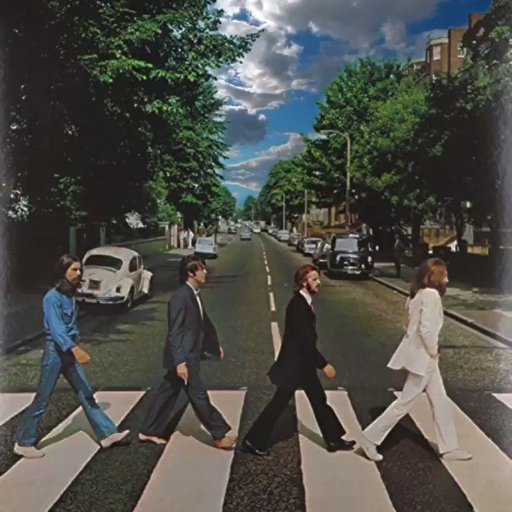On this day in 1969, the Beatles cross Abbey Road...creating the world's most famous crosswalk.