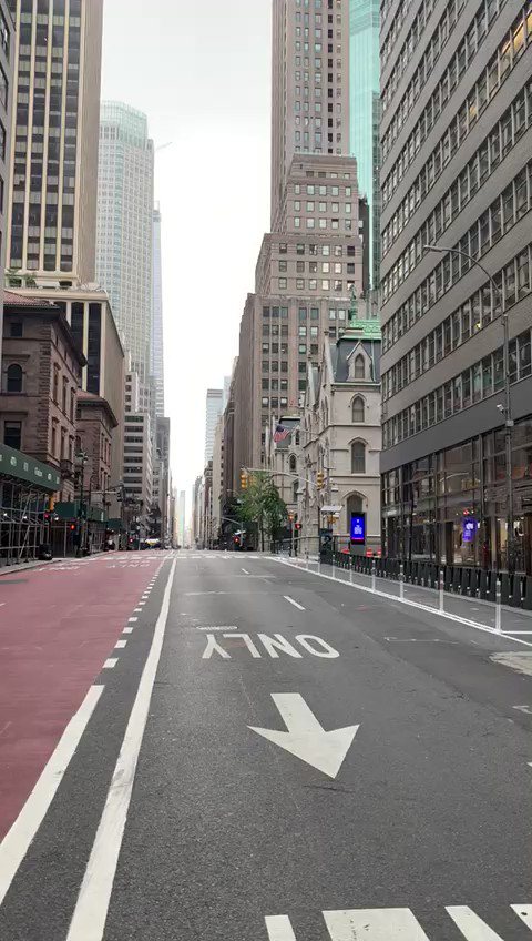 Congratulations Mayor DeBlasio!  The traffic has been solved in downtown Manhattan, because everyone has left!