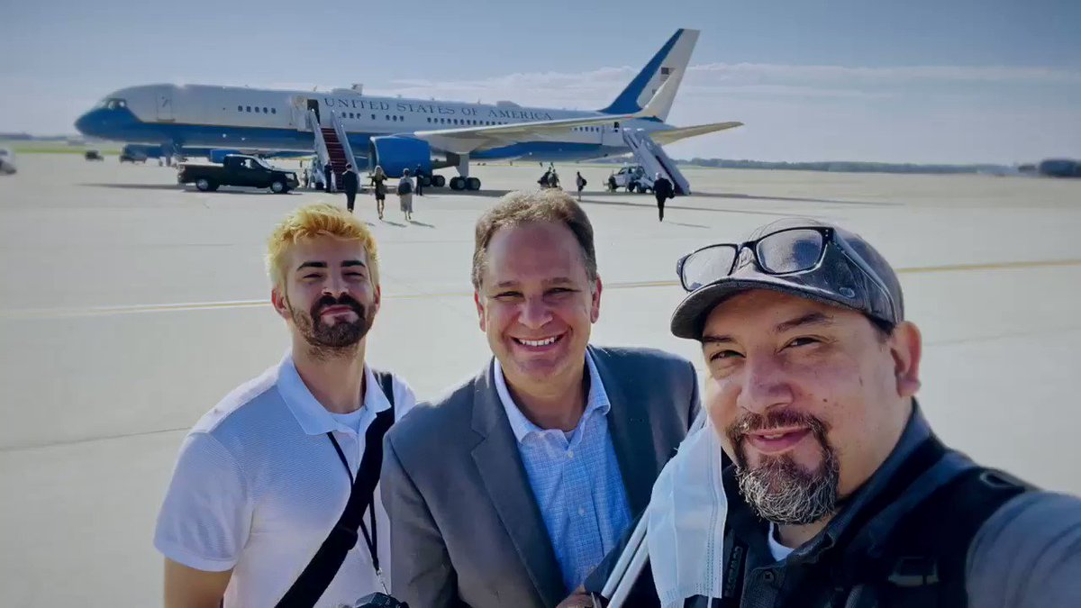 JUST POSTED: Here's our Behind The Scenes video from this week's trip with Vice President Pence to Florida aboard Air Force Two. Thanks to photojournalist Mario Gonzalez for putting this together! Follow him @cbnphotogmg ! @VP @Mike_Pence @WhiteHouse @realDonaldTrump @CBNNews
