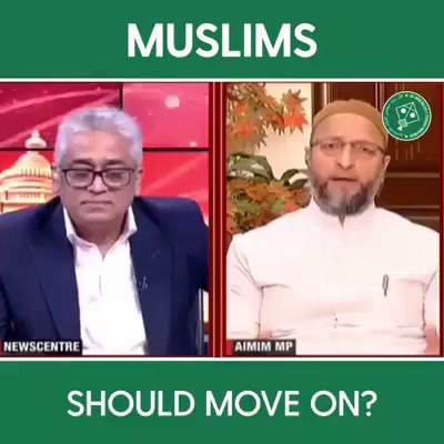 """Second part of the video. Not a fan of politics which uses religion as a base, but we do need leaders who are not scared to articulate the problems of Muslims within the Constitution.. """"Secular"""" parties should, but are too busy being RSS, shamefully."""