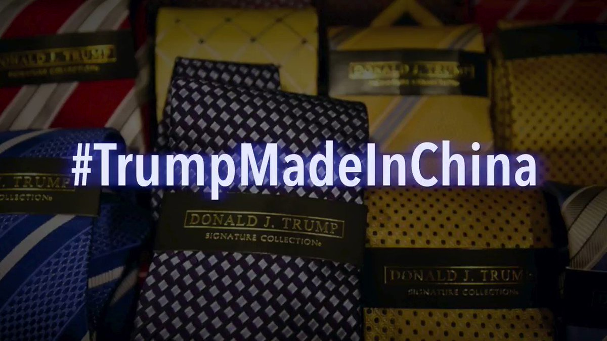 Brutal. Trending number four in the US. Retweet and keep going. #TrumpMadeInChina
