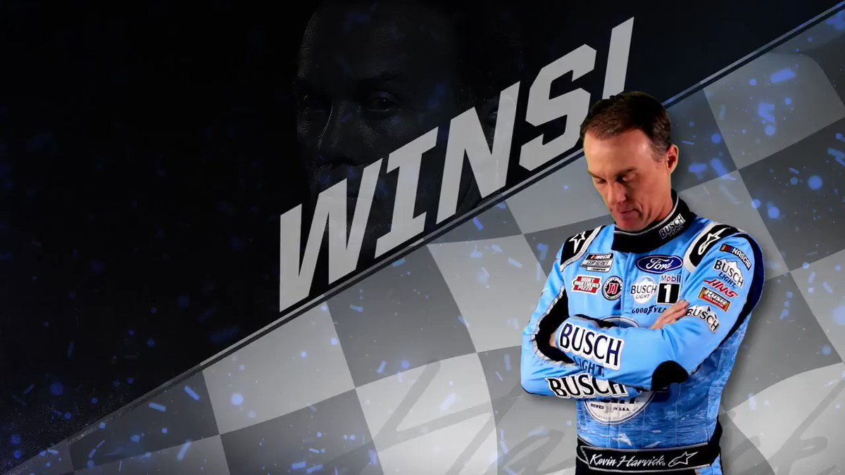 Someone get a broom... we've got a Michigan sweep on our hands! 😎 @KevinHarvick scores back-to-back wins in the No. 4 #BuschLightApple Ford Mustang at @MISpeedway. Tap the ❤️ to help us celebrate.  #NASCAR // #SHRacing // @BuschBeer