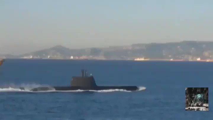 🇬🇷 En toute illégalité, la #Turquie viole une nouvelle fois la zone économique exclusive de la #Grece.... La marine grecque est en état d'alerte maximum et a envoyé un ultimatum à la Turquie... Avant d'ouvrir le feu! Que fait l'UE? Que fait la France?