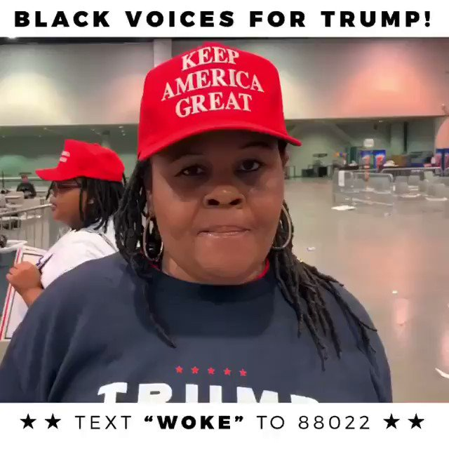 Jesus Woke me up!  Trump Woke me up more!  I am WOKE!  #BlackVoicesforTrump