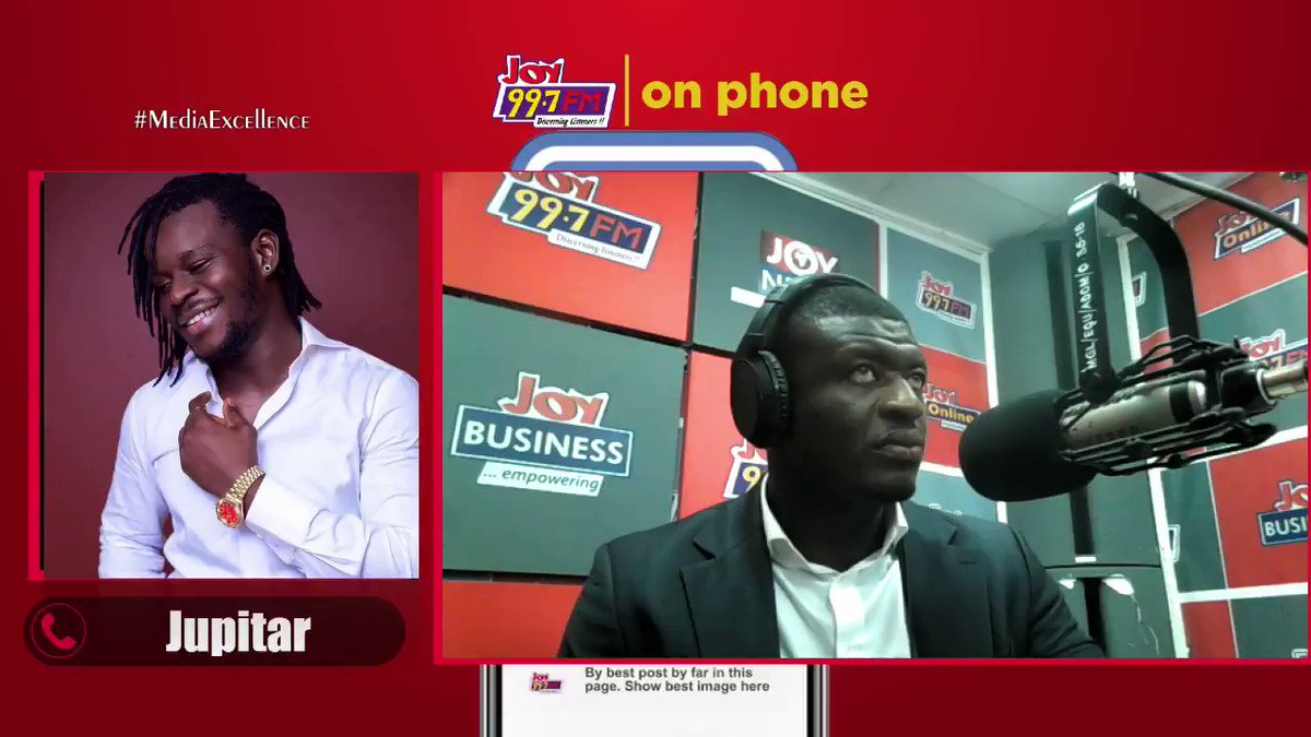 Exclusive:   The funny thing is that I'm even pushing for @epixodemusic's agenda in this clash. I'm a big boy in this industry. I was there before @stonebwoyb... - @JupitarOfficial   #DriveOnJoy