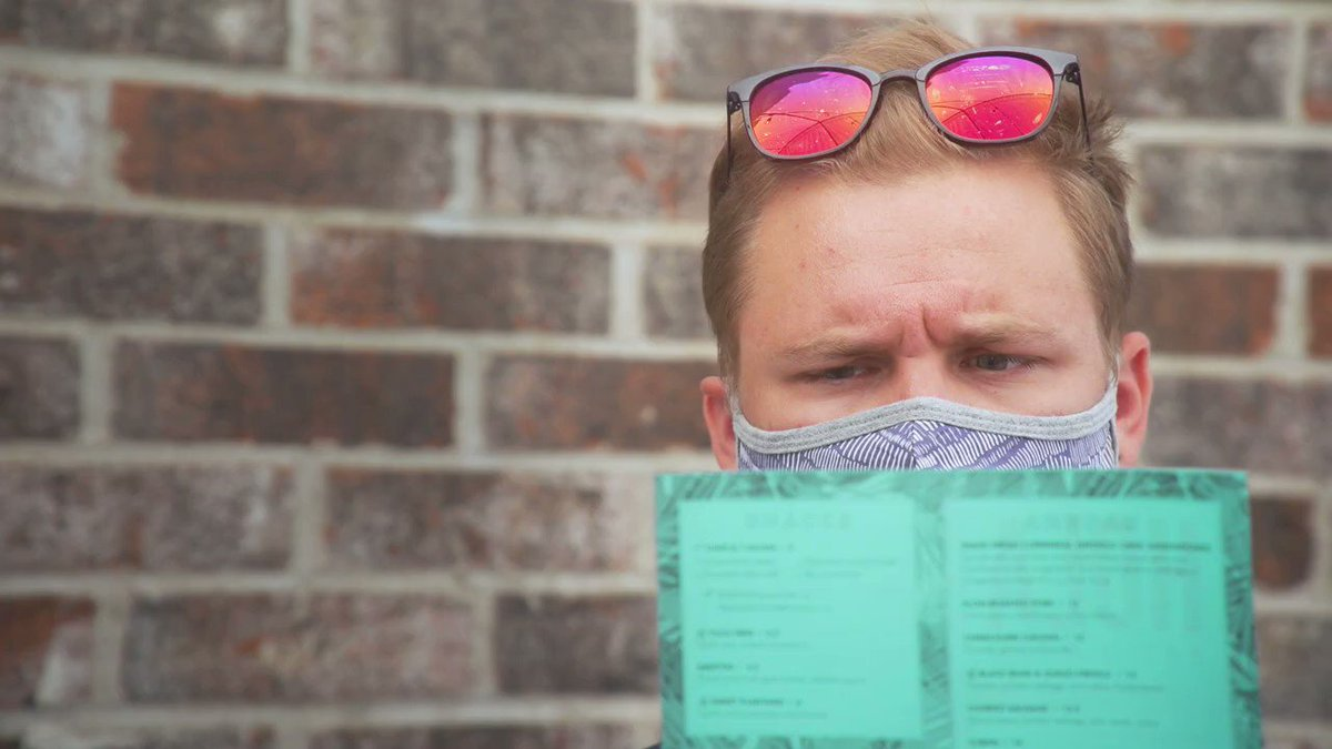 RT @mnhealth: Deciding what to order? HARD.   Wearing a mask to your favorite patio? EASY.  #MaskUpMN #ThatWasEasy