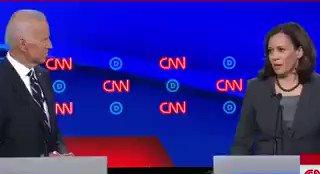 Kamala Harris accusing Joe Biden of being a segregationist 👇🏼👇🏼