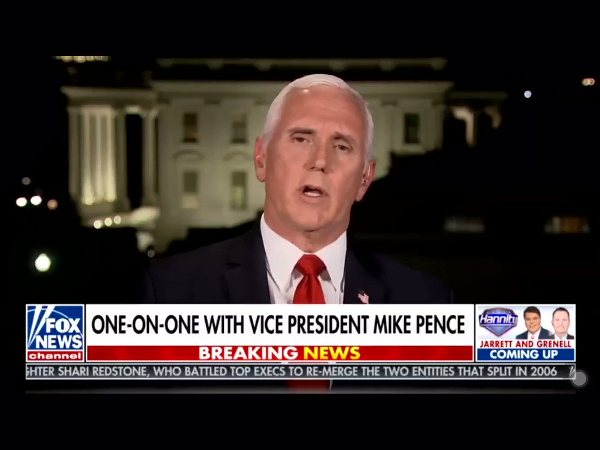 .@Mike_Pence says because of the foundation of the economy @realDonaldTrump Has built let us gain more jobs in three months then Obama/Biden did in eight years.