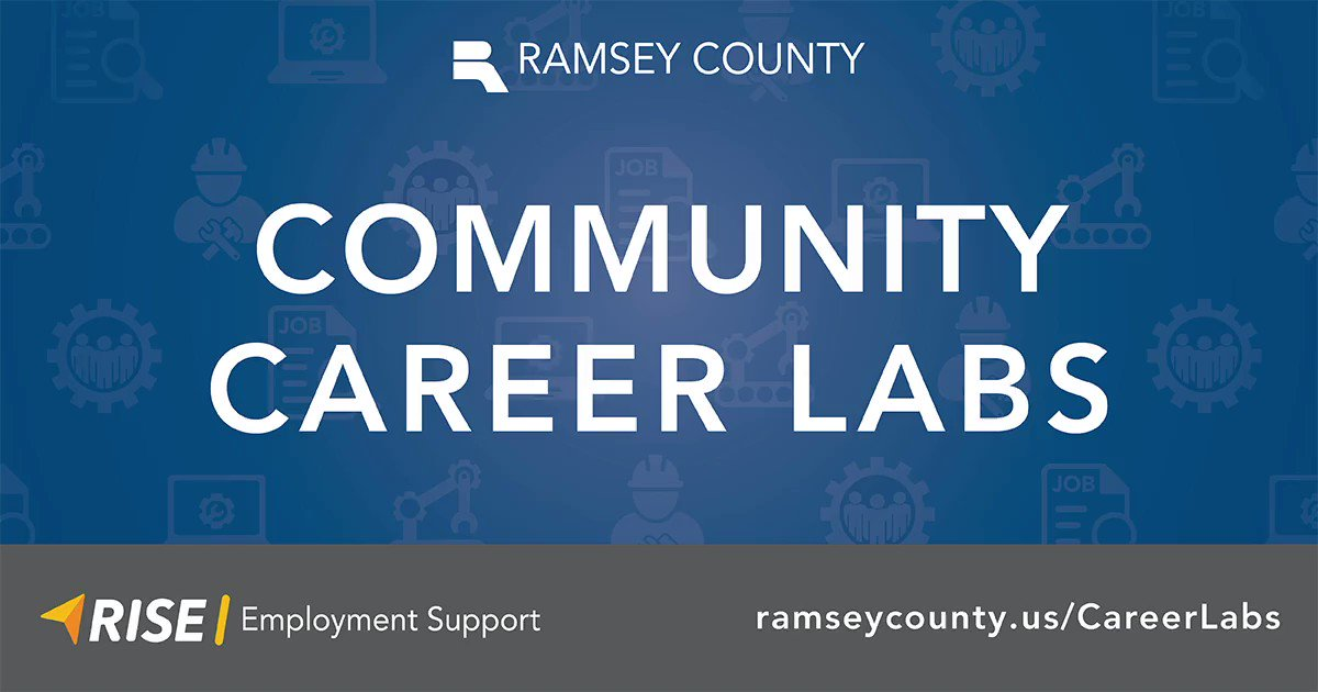 Several new career labs are now open throughout Ramsey County to provide access to computer workstations and job search support. All sites accord with Public Health guidelines for COVID-19.  Learn more: