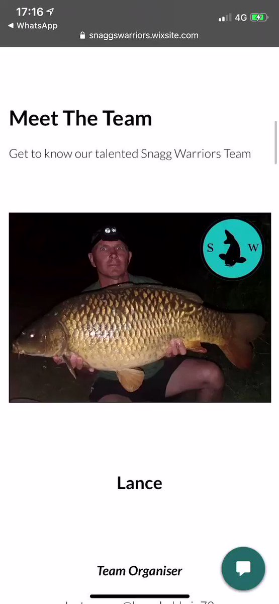 Meet some of the lads (and lasses) who make up the <b>Tea</b>m!! #sn4ggs #incredibletackle #carp #ca