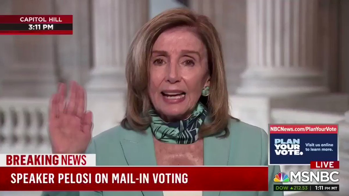 """🚨 Disgusting: Nancy Pelosi just called Republicans """"domestic enemies.""""  I was shot because of this kind of unhinged rhetoric.  Where's the media outrage?"""