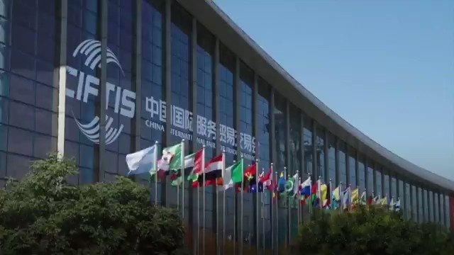 Los artículos deportivos de alta tecnología exhibidos en la Feria Internacional de #China para el Comercio de Servicios 2020 mostraron a los visitantes el desarrollo futuro de la industria del deporte y atrajeron a muchos entusiastas. #TecnologíaChina  📽️: @cgtnenespanol
