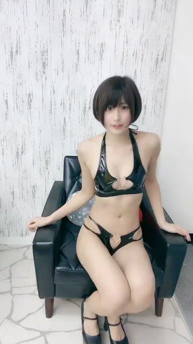 Micro bikini hot black JAV