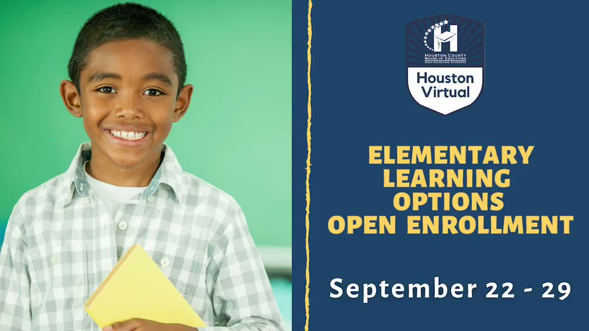 Open Enrollment for Elementary Learning Options will be held September 22-29.  Next week, we will release directions on how to enroll through Infinite Campus. For more details, visit .