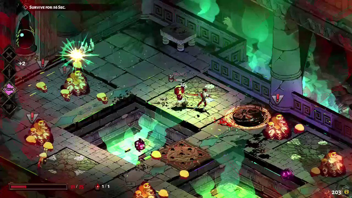 You heard it here last, but (un)holy crap, #Hades is good!?!?  #NintendoSwitch #NintendoDirect #nindies #indiegaming #roguelike #hell