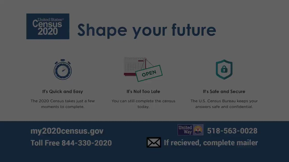 Complete your #Census today!