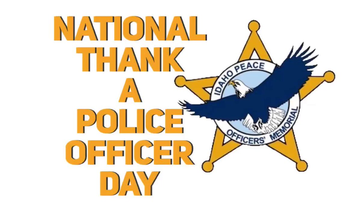 "IN VALOR THERE IS HOPE  On #NationalThankAPoliceOfficerDay we thank those officers who made the ultimate sacrifice in the line of duty, protecting and serving our communities. ""When a police officer is killed, it's not an agency that loses an officer, it's an entire nation."""