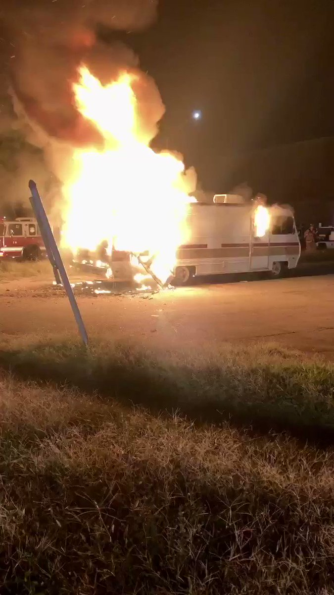 Firefighters from West End's Engine 29 arrived to find an unusual situation in a city: an RV fire. The flames were extinguished quickly with no injuries. The cause of the fire is under investigation.