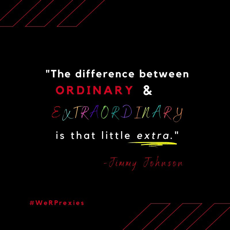 💫 Sometimes that little extra can mean all the difference. Happy #MotivationalMonday, MCS Presidents! #WeRPrexies