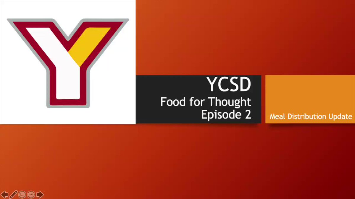 @YtownSchools Don't miss the Episode 2 of the YCSD Food Service Department's Food for Thought. #YCSDFamily