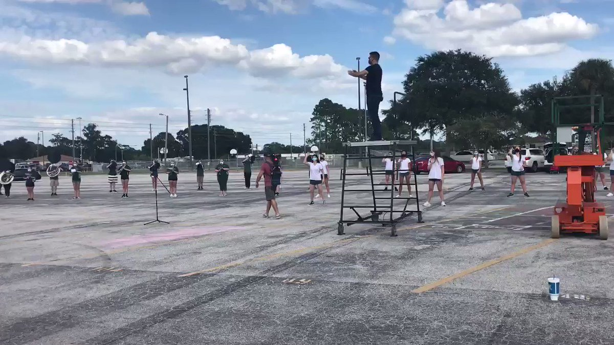 It's not too late...WATCH NOW @SeminoleWarhawk Marching Band NOW on @FOX13News 4pm news hour. CATCH one more LIVE segment with @ChipBrewster and our wonderful #SeminoleWarhawks #PCSProud
