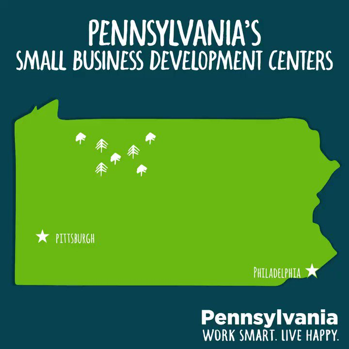🔹Technology 🔹Operations 🔹Capital Acquisition 🔹Strategic Planning 🔹Continuity & Survival  #Pennsylvania has 17 @PASmallBusiness Centers that are providing FREE assistance to businesses across the state. Find your local center.📍 #SmallBusinessWeek