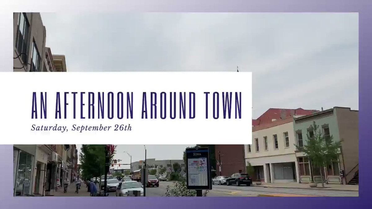 This Saturday is our An Afternoon Around Town event in downtown Xenia.  There will be 9 food trucks, a live band at @devilwindbrew, & a DJ outside of Xenia Smoke Shop. Several downtown businesses will also be holding specials & extended hours.  #ShopLocal