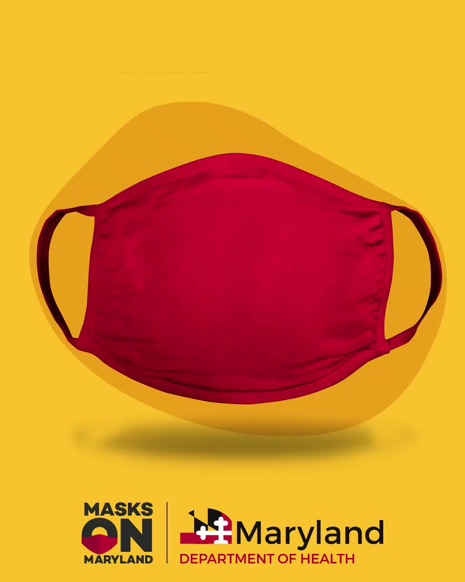 Confused about when to wear a mask? We've got you covered. #MasksOnMaryland