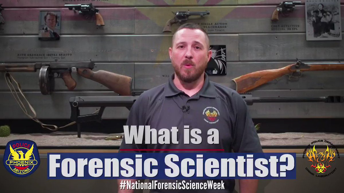 These are the REAL people behind all the Hollywood shows. They are our superstars and we are fortunate to have them help in bringing justice to victims.  Learn more about their careers by watching the full video on our FB page  #NationalForensicScienceWeek