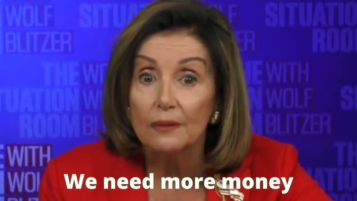 Speaker Pelosi talks like she wants a relief deal for the American people, but where was she when @HouseGOP requested unanimous consent to pass a clean extension of the PPP and airline relief?