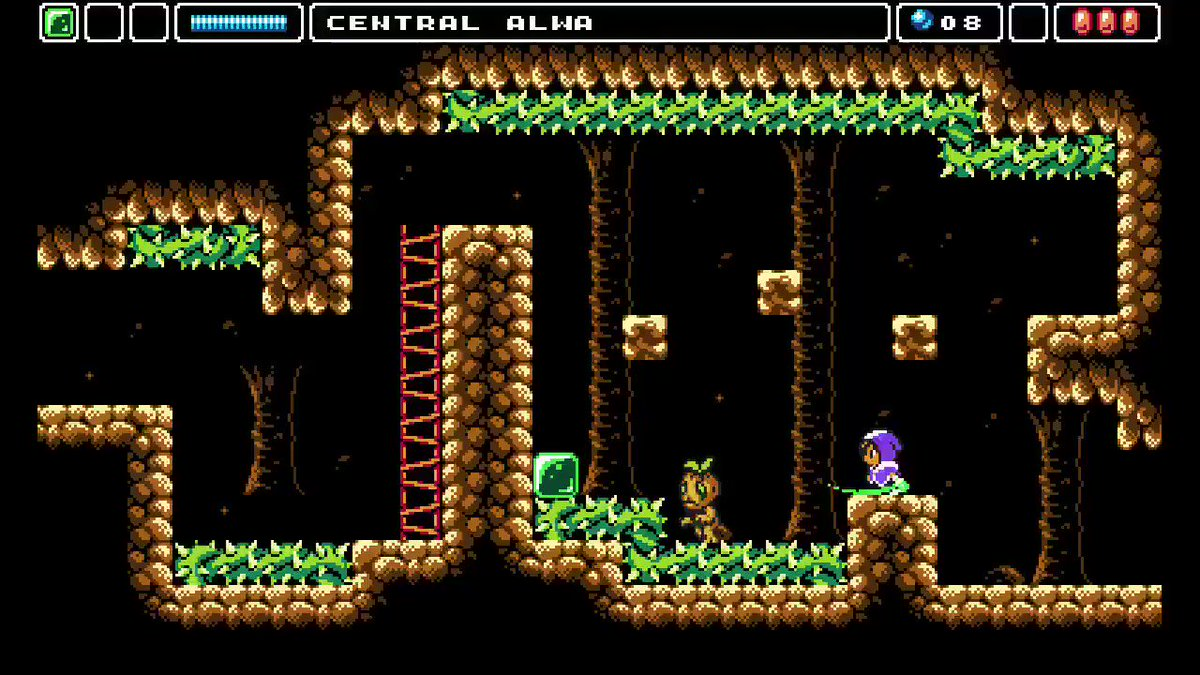 We've been checking out #AlwasAwakening from @EldenPixels now that its sequel, #AlwasLegacy, has arrived!  Better late than never, right?!?😅  #metroidvania #nes #snes #8bit #16bit #pixelart #pixel #retrogames #retrogaming #indiegame #indiegames #indiegaming