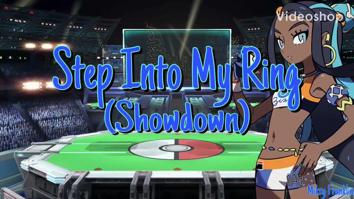Here's a great song to add to your workout mix 🙌🏾  Step Into My Ring (Gym Leader Remix Original Lyrics)   #Pokemon #PokemonSwordShieldEX #HipHopAwards #NaughtyList #art #PokemonSwordShield #Nintendo #CrownTundra #PokemonGO #Music #PokemonGOraid #games