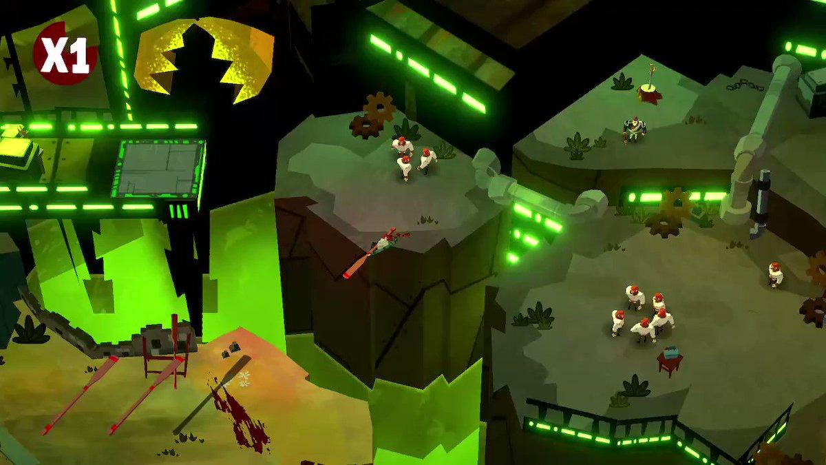 Yep, this game is amazing!?!  #Bloodroots #NintendoSwitch #indiegames #indiegame #nindies #pursuingpixels