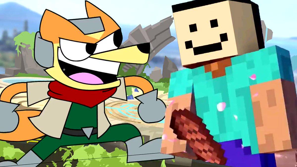 @Sora_Sakurai @Sora_Sakuraii  where's Steve's meat?   #NintendoSwitch #NintendoDirectMini #SmashUltimate #Memes #SmashBros #minecraft #supersmashbros #minecon #stevesmash #minecraftsmash  #nintendo #steveinsmash #MinecraftLive #minecraftlive2020