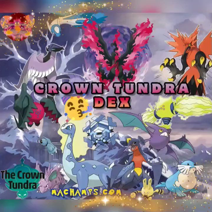 Hey Machampions!🤩 Crown Tundra Giveaway!!!!  YOU CAN ENTER AS MUCH AS YOU'D LIKE!  1.#Follow us 😍 2.#Retweet This 3.Enter Link Code:1923 3333, IGN: Machamps com 4. POST WHAT YOU GET!  #Pokemon #Nintendo #HailMachamp #Machamp #Retweet #Share #CrownTundra #machampsgym