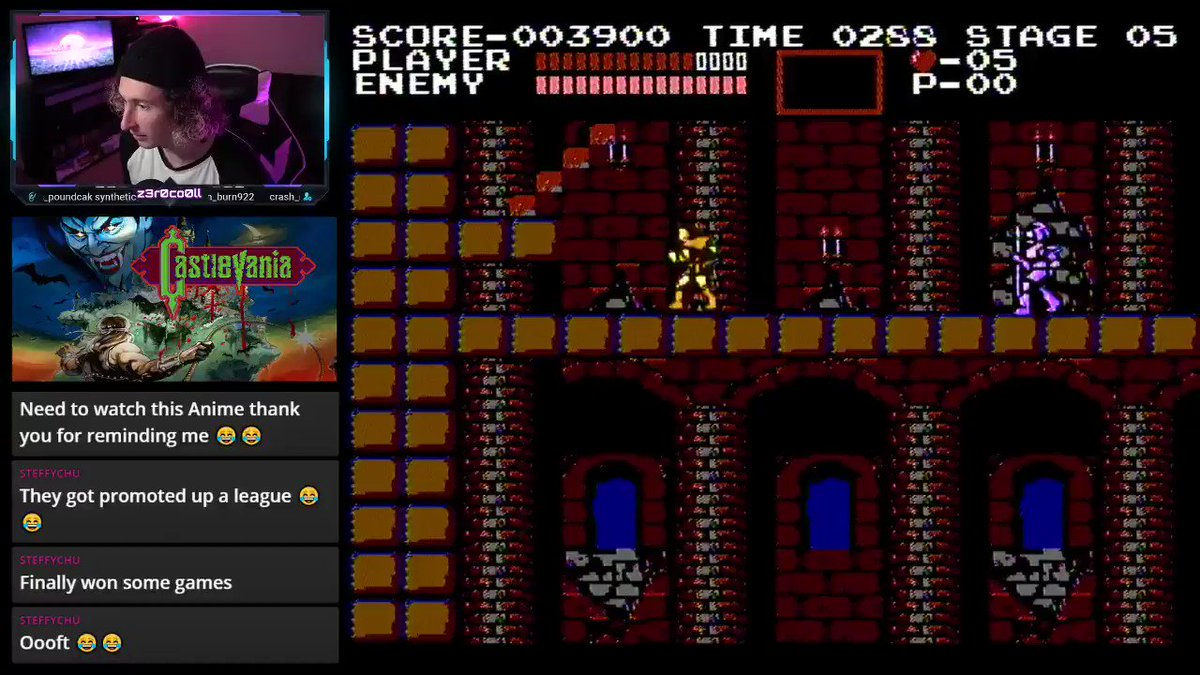If anyone was curious. This is a little peek at how Castlevania went tonight. Officially added to the list of really hard retro games that I will have to come back to! #Castlevania #Nintendo #Retro #Sad #twitchtv