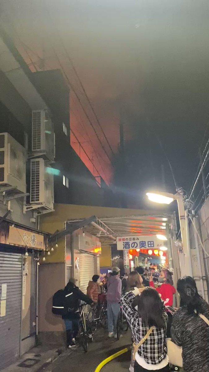 大阪 天満 火事