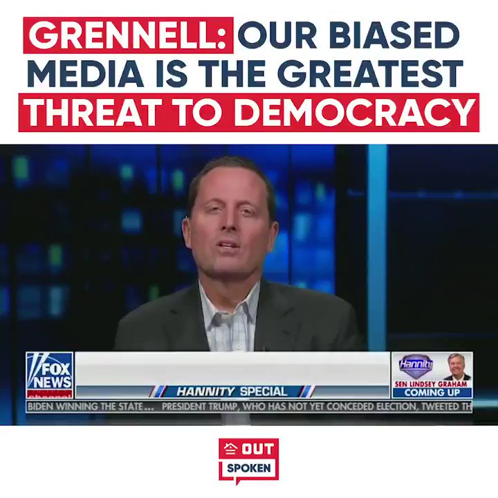We can't expect DC and the media to be better, we have to do that on our own, says @RichardGrenell