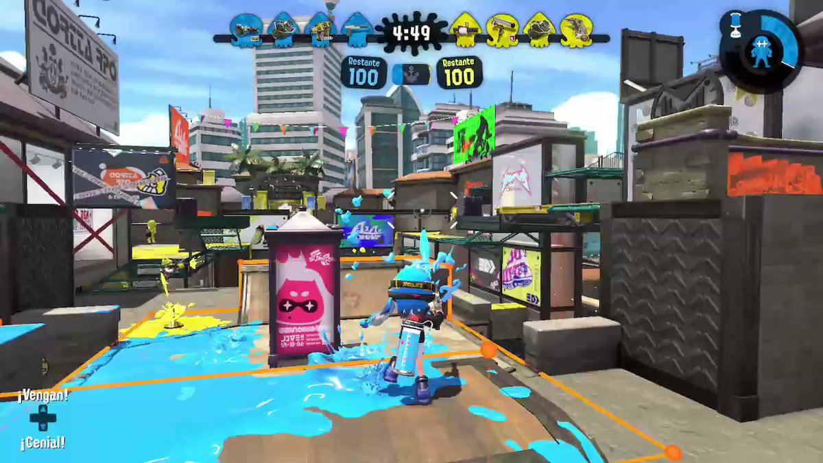 hehehe triunfe #Splatoon2 #NintendoSwitch